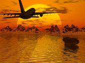 Airplane Silouette