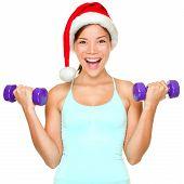 Fitness Christmas Woman Training