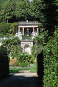 View Into The Sicilian Garden; In The Background The Nordic Garden, Sanssouci, Potsdam poster