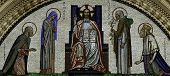 London - Westminster Cathedral Front Mosaic