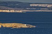 Kvarner Bay Islands And Prvic Lighthouse