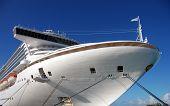 Giant White Cruise Ship