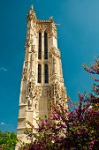 Saint-Jacques church tower in Paris