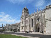 Lisbon.The Hieronymites monastery.