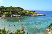 Cala Gracio in Ibiza, Spain