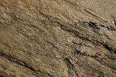 Layered Rock And Sand Background