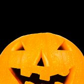 Halloween Lantern With Clipping Path And Copyspace