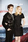 BERLIN - JUN 20: Andrew Garfield, Emma Stone at the photo call for