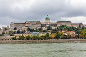 Budapest Hungary - Buda Castle Or Royal Palace Of Buda Built On The Southern Castle Hill In 1265ad A poster