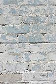 parede de tijolo texturizado branco pintado