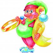 Постер, плакат: Gnome с кольцом
