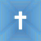 Abstract Christian Cross