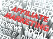 Affiliate Marketing Concept.