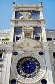 St Mark's Clocktower, Venice, Italy