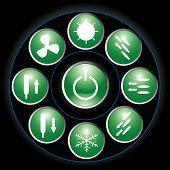 Button Green
