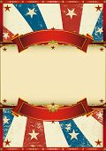 old patriotic vintage poster. A patriotic vintage poster for your advertising