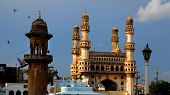 picture of charminar  - Hyderabad historic architecture - JPG