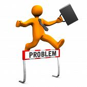 Businessman Steeplechase Problem