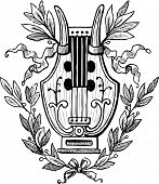Lyre With Laurel Twigs.eps