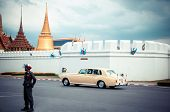 Royal Family's Rolls Royce and Grand Palace - Bangkok