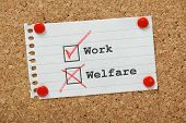 Work Or Welfare?
