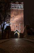Opatowska Gate By Night