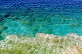 Green And Blue Water