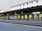 Trastevere Railway Station In Rome