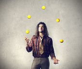pic of juggler  - Creative Juggler - JPG