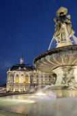 Fountain In The Place Of The Bourse