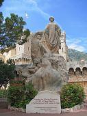 Monaco -  Memorial Statue