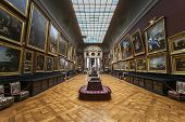 Chateau de Chantilly, Oise, France,interiors