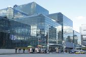 Jacob Javits Convention Center in Manhattan