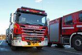 Scania P320 Fire Truck