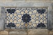 tile design in Samarkand, Uzbekistan