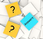 Questions Answers Notes Show Questioning And Explanation