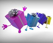Presents Mean Give And Receive Gifts For Special Occasion