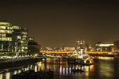 London Night: London Bridge