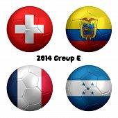 2014 Soccer Championship Group E Nations