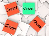 Order Chaos Notes Mean Orderly Or Chaotic