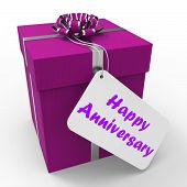 picture of 50th  - Happy Anniversary Gift Showing Celebrating Years Of Marriage - JPG