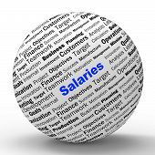 Salaries Sphere Definition Means Employer Earnings Or Incomes