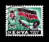 Kenya stamp 1963