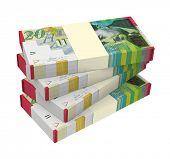 pic of shekel  - Israeli Shekel money isolated on white background - JPG