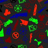 automotive colorful pattern eps10