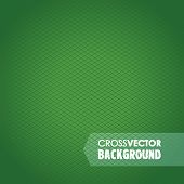 stock photo of cross-hatch  - an abstract cross line green background image - JPG