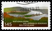 Postage Stamp Germany 2011 Kellerwald National Park