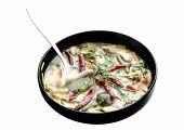 Tomyum Coconut Milk Mushroom And Mix Vegetable