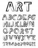 Artistic Alphabet
