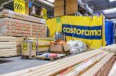 Samara, Russia - October 18, 2014: Interior Of The Castorama Samara Store. Castorama Is A French Ret